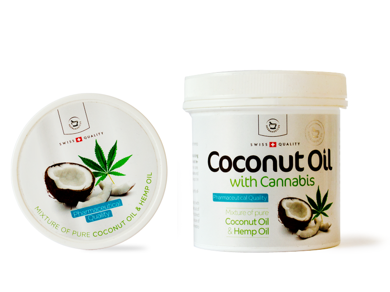 Coconut Oil with Cannabis 250 ml